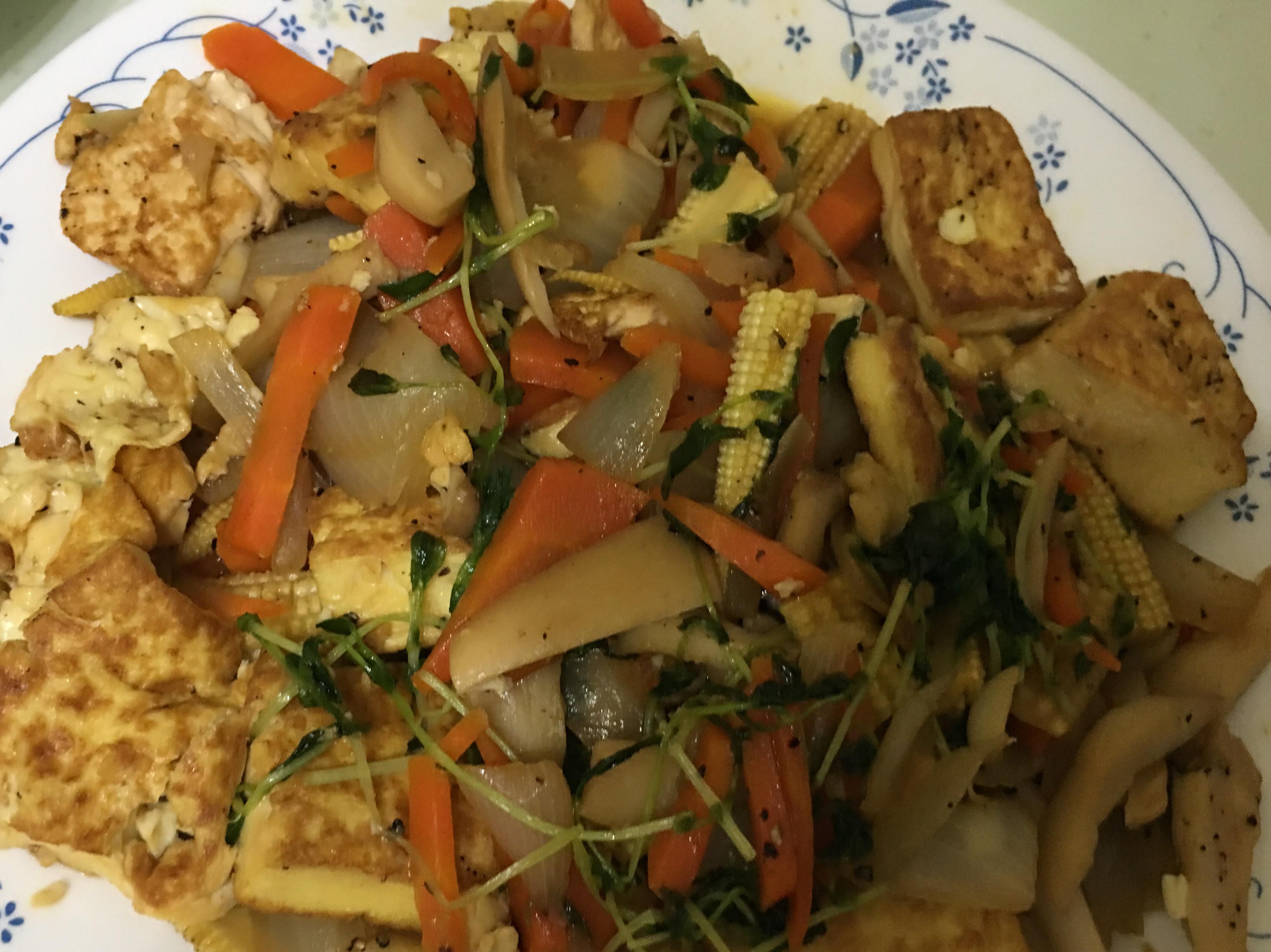 鐵板豆腐好下飯