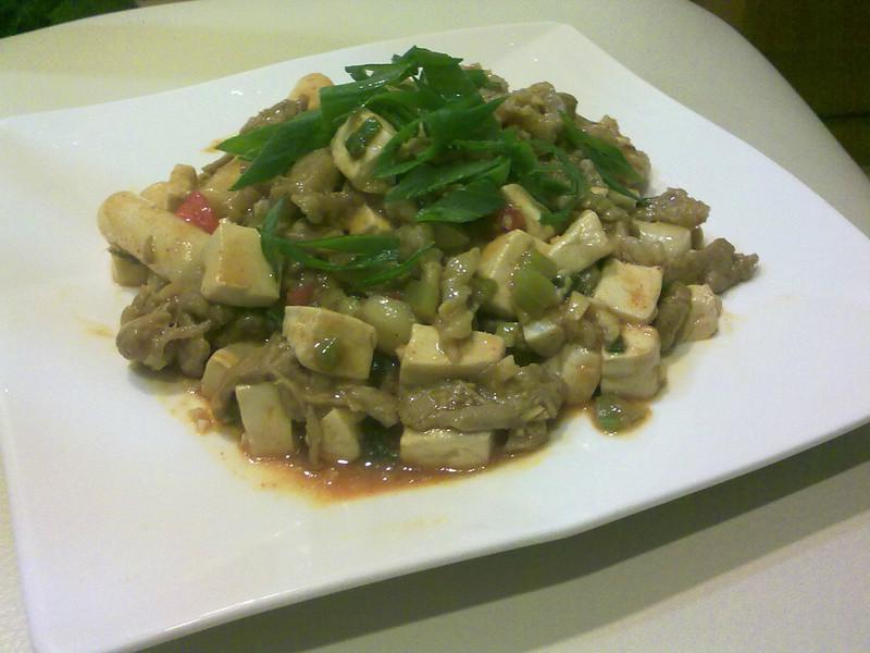 麻婆豆腐年糕