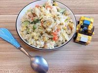 鮪魚乳酪蛋炒飯(剩飯料理·懶人料理)