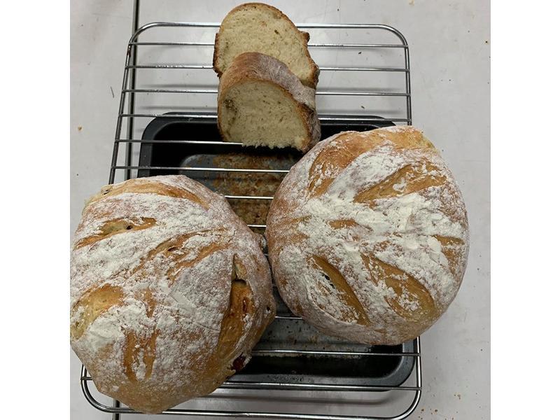 免揉歐式麵包(米麵包)