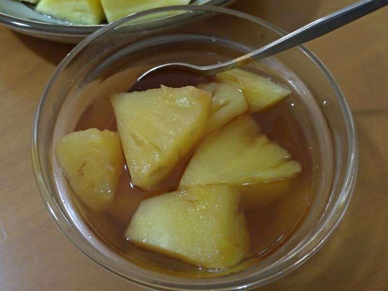 黑糖檸檬鳳梨湯