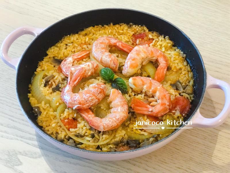 西式主菜🥘西班牙海鮮飯