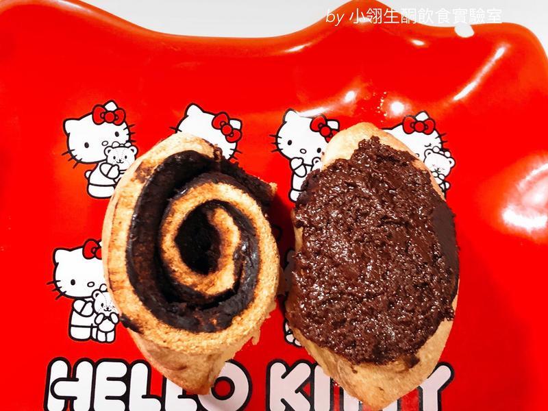 生酮版巧克力麵包捲