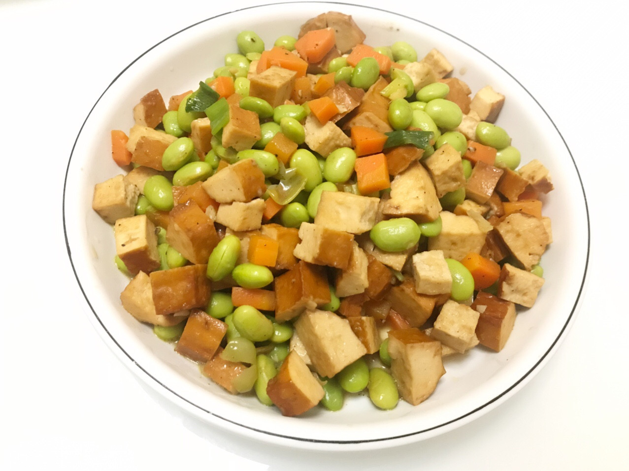 👩🏻🍳毛豆炒豆干
