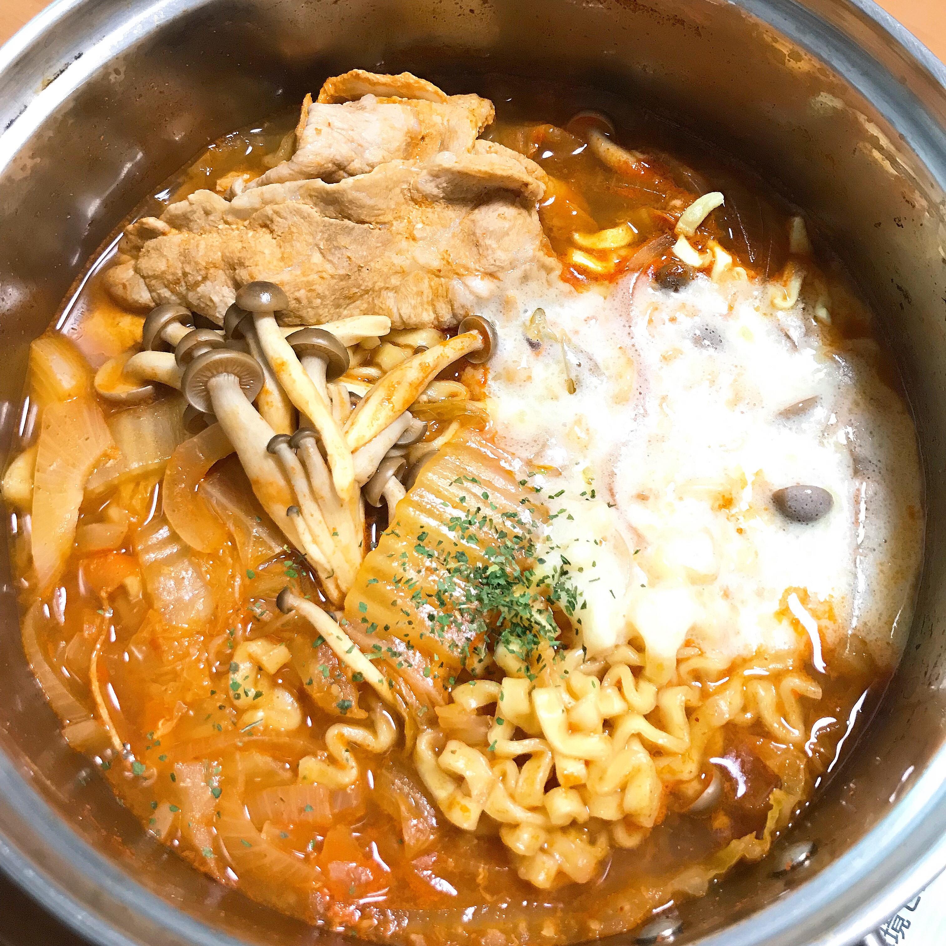 韓式有料泡麵