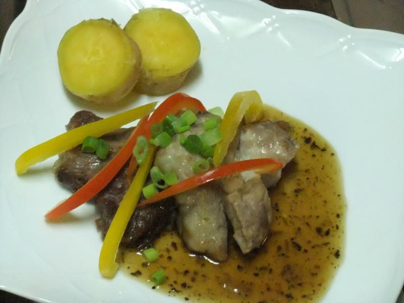 【黃金玄米油清爽料理】~玄米黃金香煎豬排(台味)