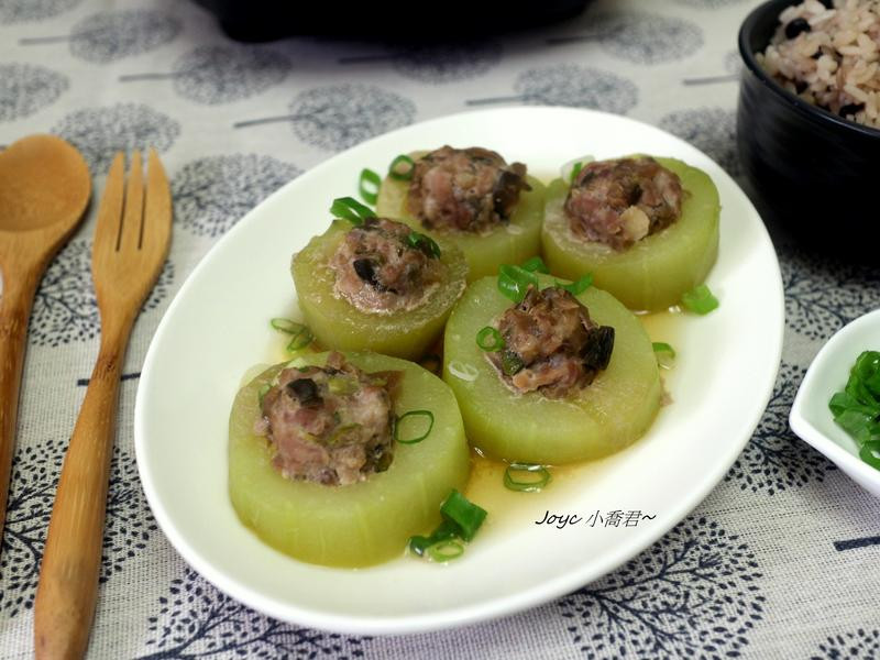 清蒸黃瓜鑲肉