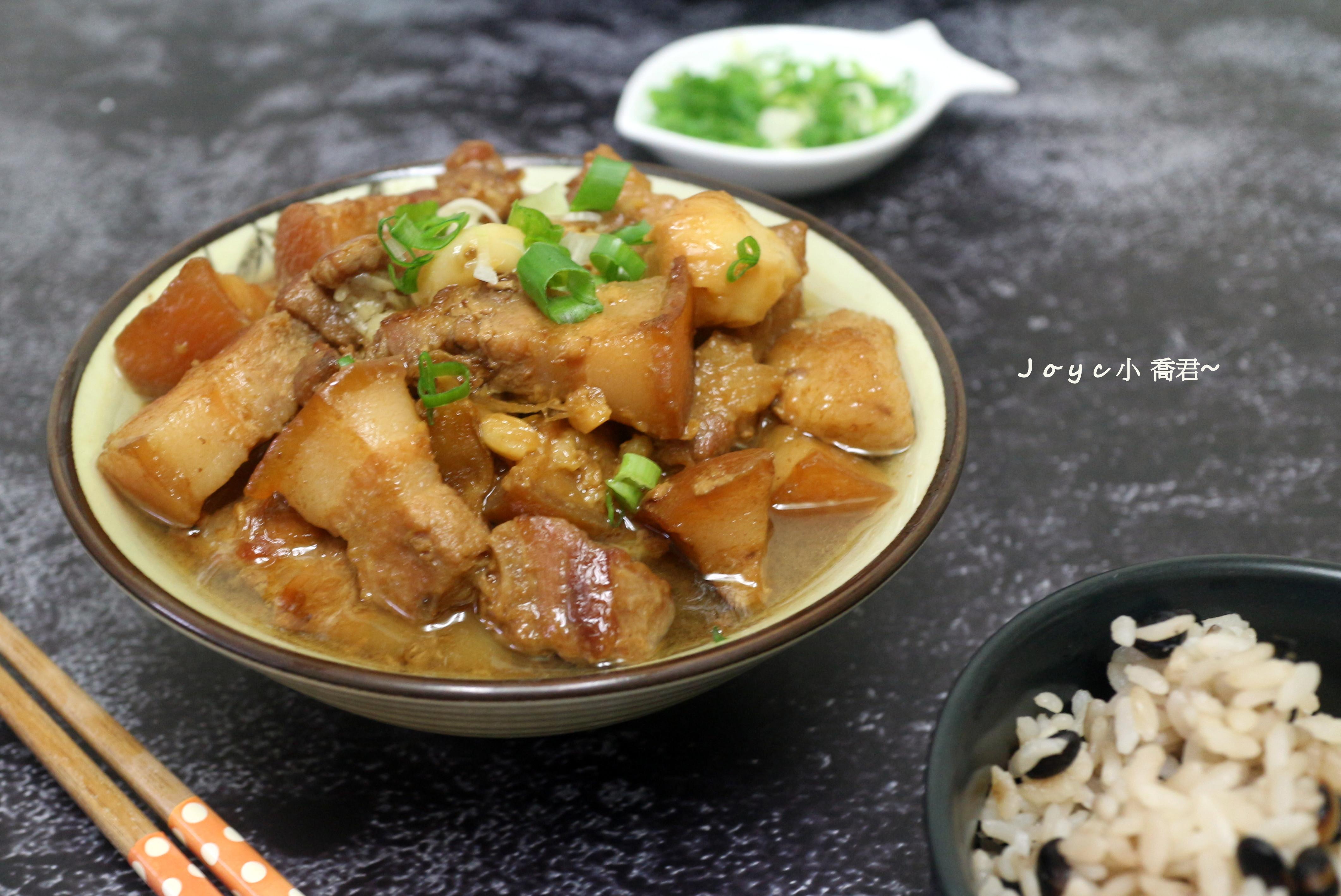 超下飯~蒜香滷肉