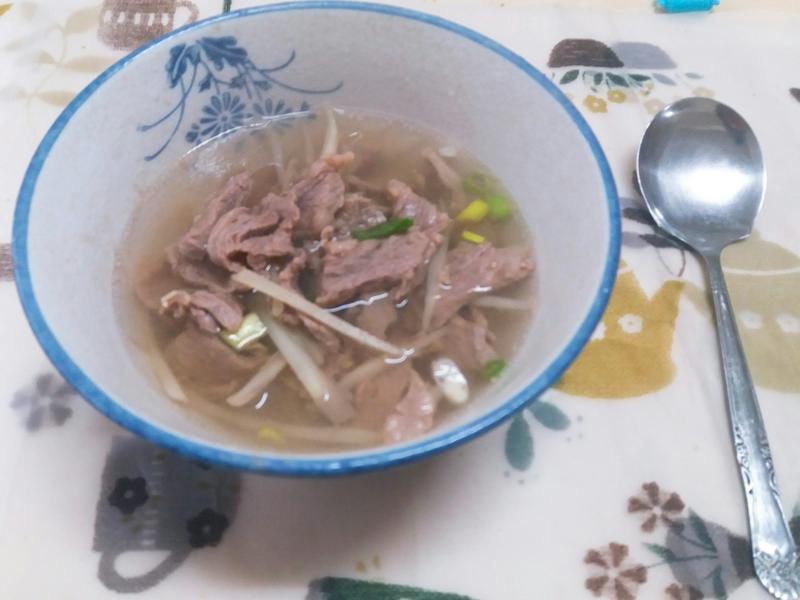 甘甜牛肉湯