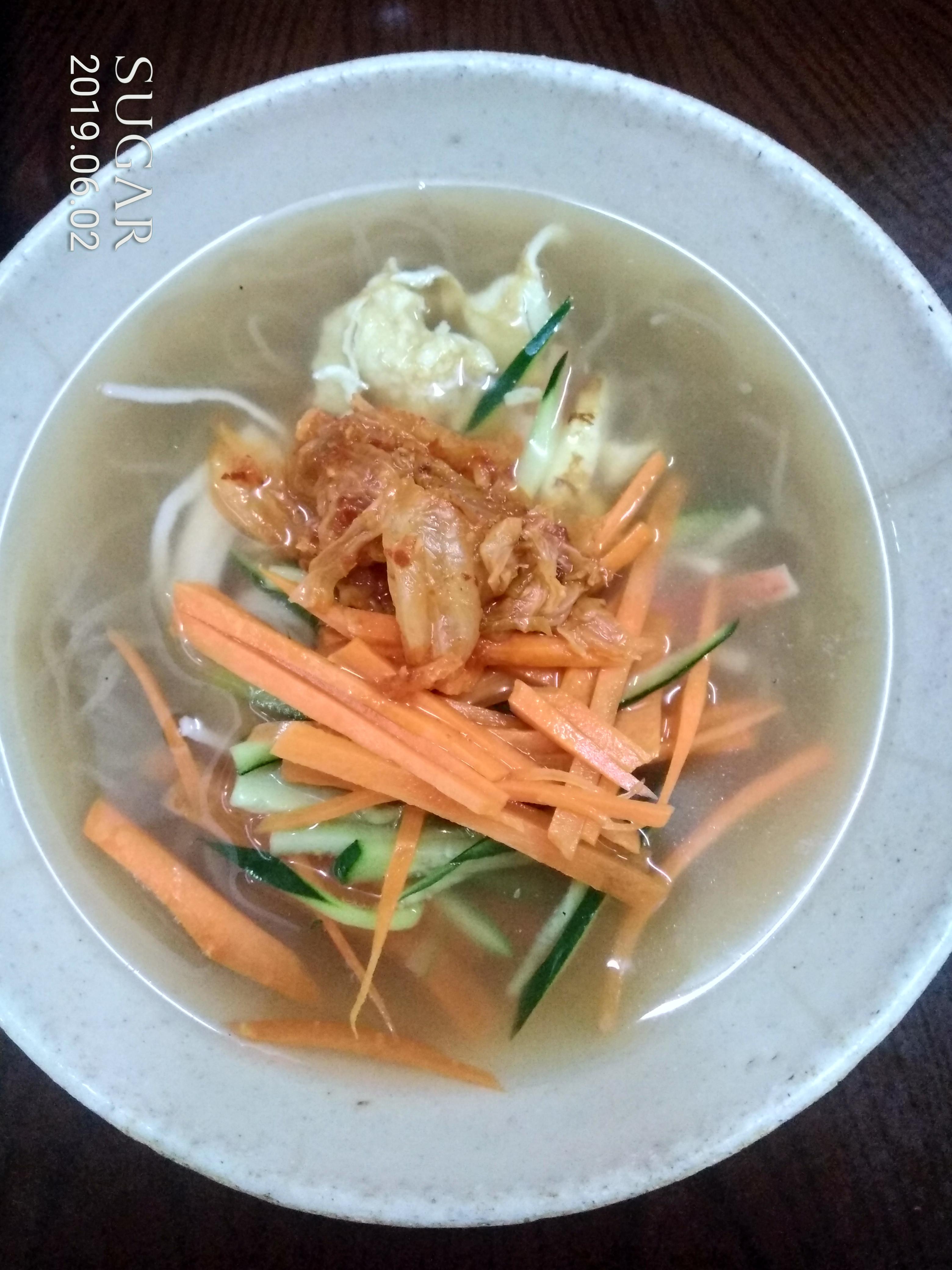 韓式蕎麥涼麵