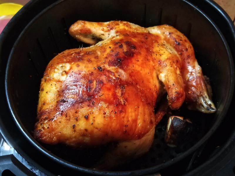 氣炸出美食-烤全雞