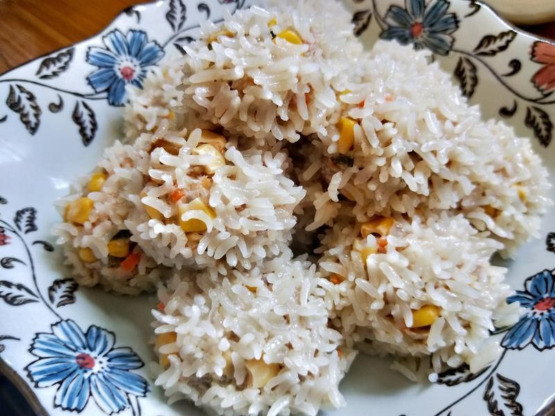 玉米珍珠丸子