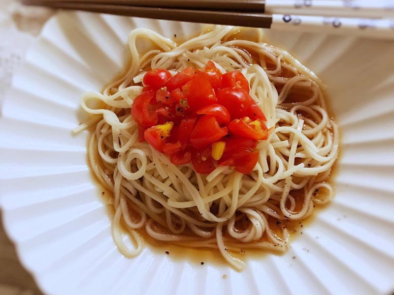 和風番茄冷麵 (露營OK)