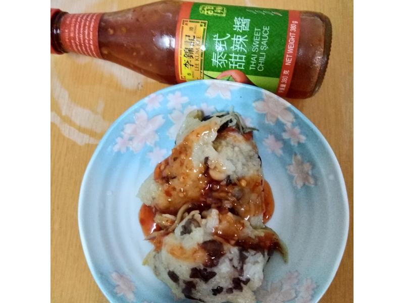 紅豆干貝香菇肉粽