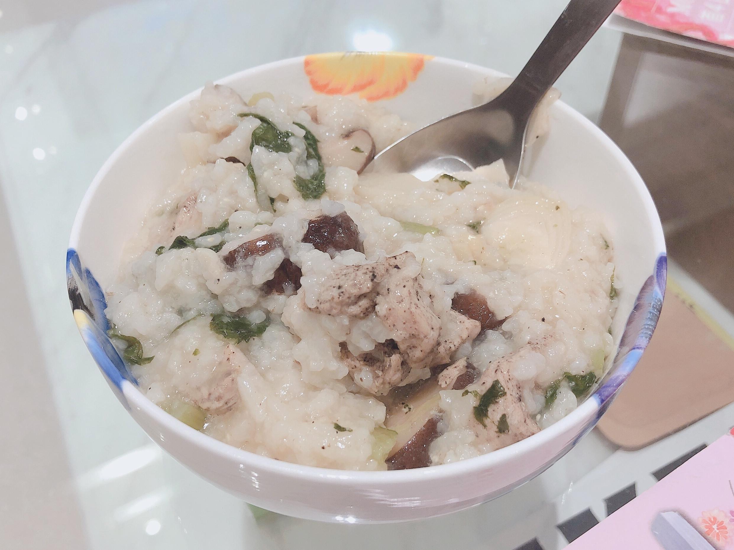 超簡易健康低卡鹹粥(無高湯蜆精版)