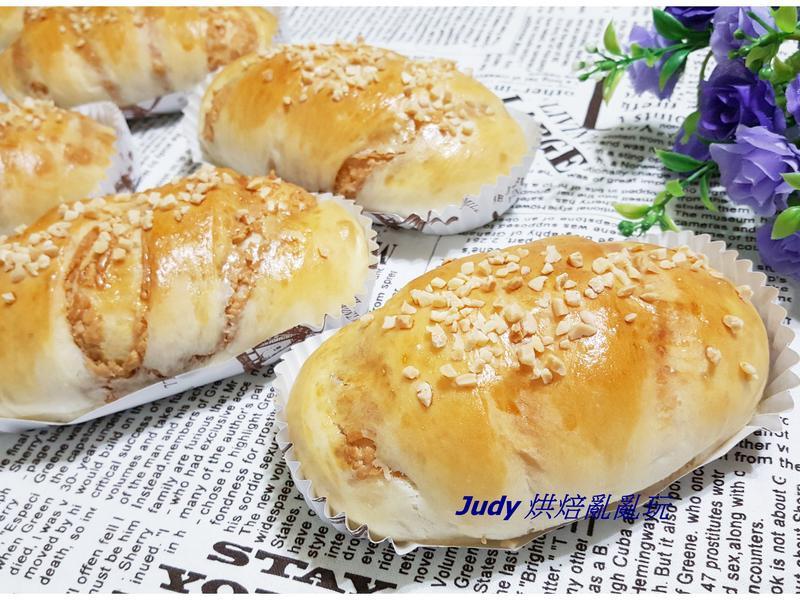 花生麵包(隔夜中種)