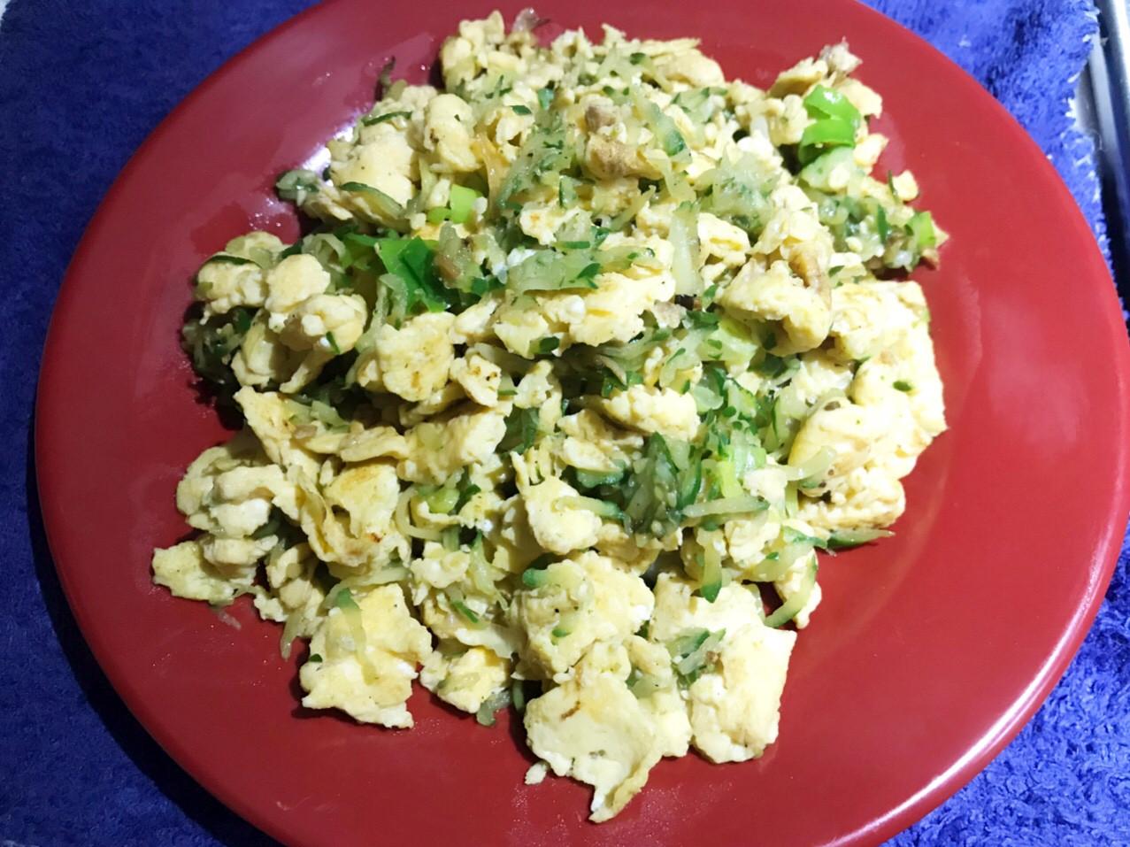 👩🏻🍳小黃瓜炒蛋-10分鐘內料理
