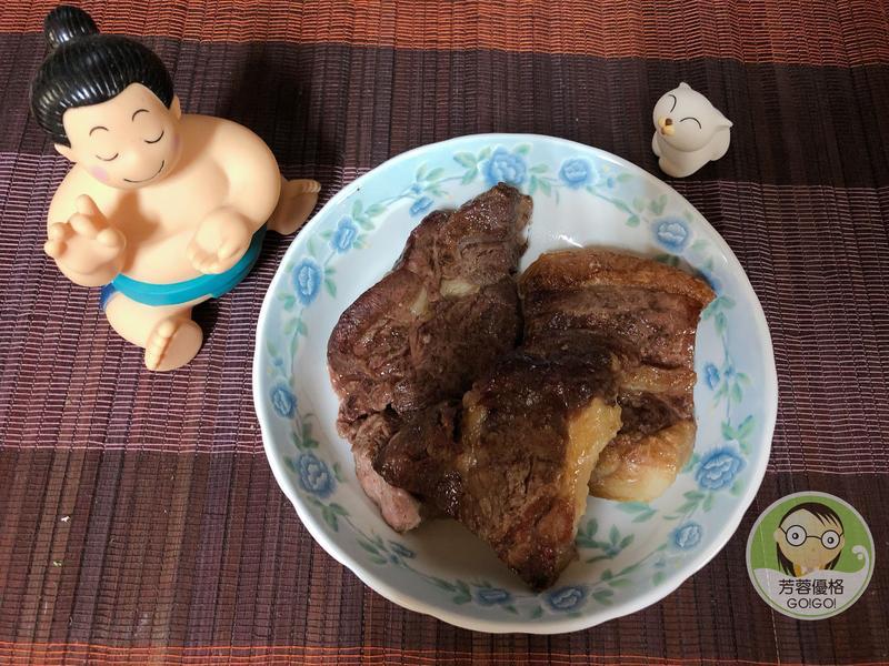 香烤冷凍厚切牛排~水波爐料理