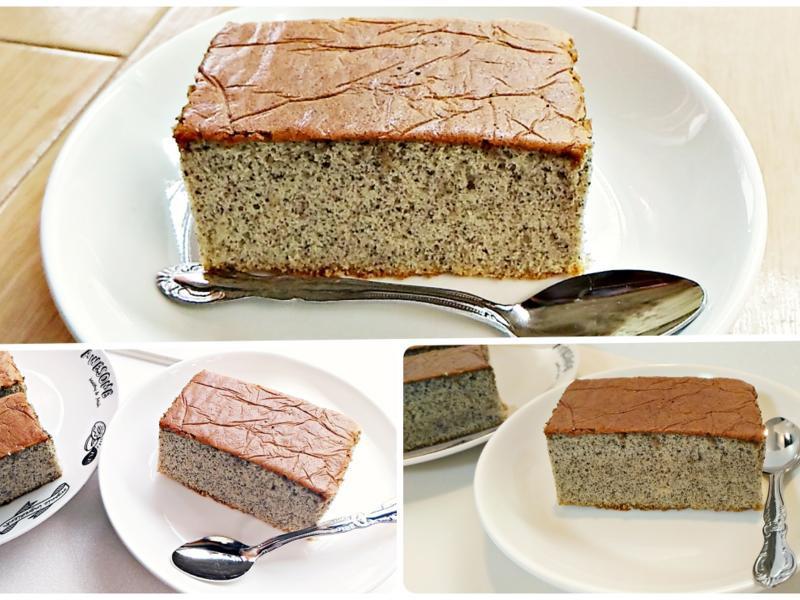 黑芝麻蜂蜜蛋糕