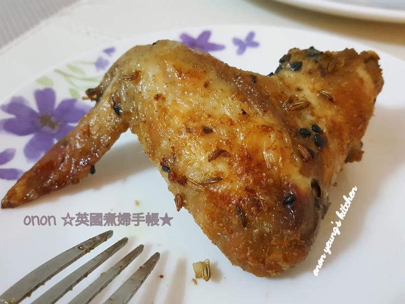 土匪雞翅❤️讓人吃不停 新手烤箱家常料理
