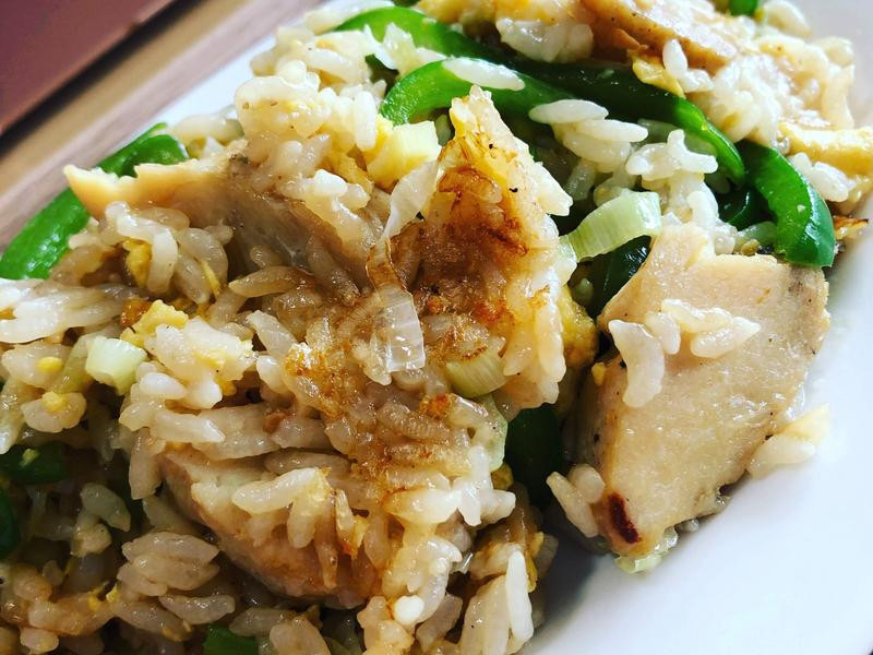 青椒雞肉炒飯
