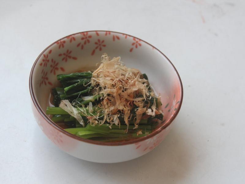 涼拌小松菜