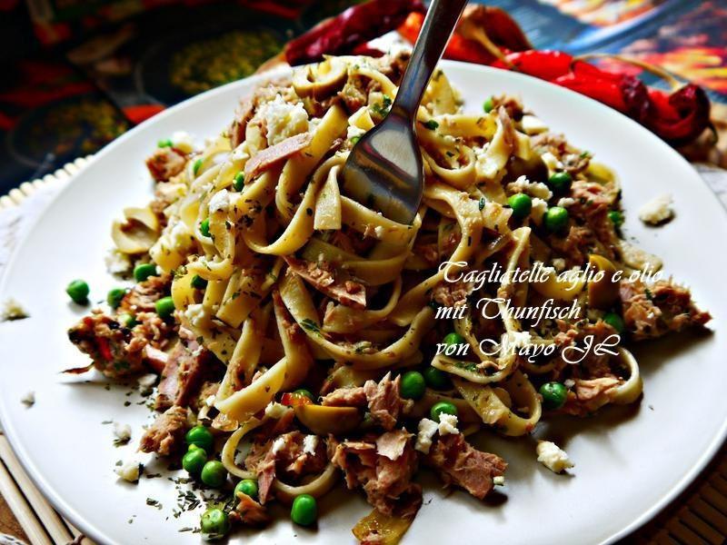 鮪魚義大利麵
