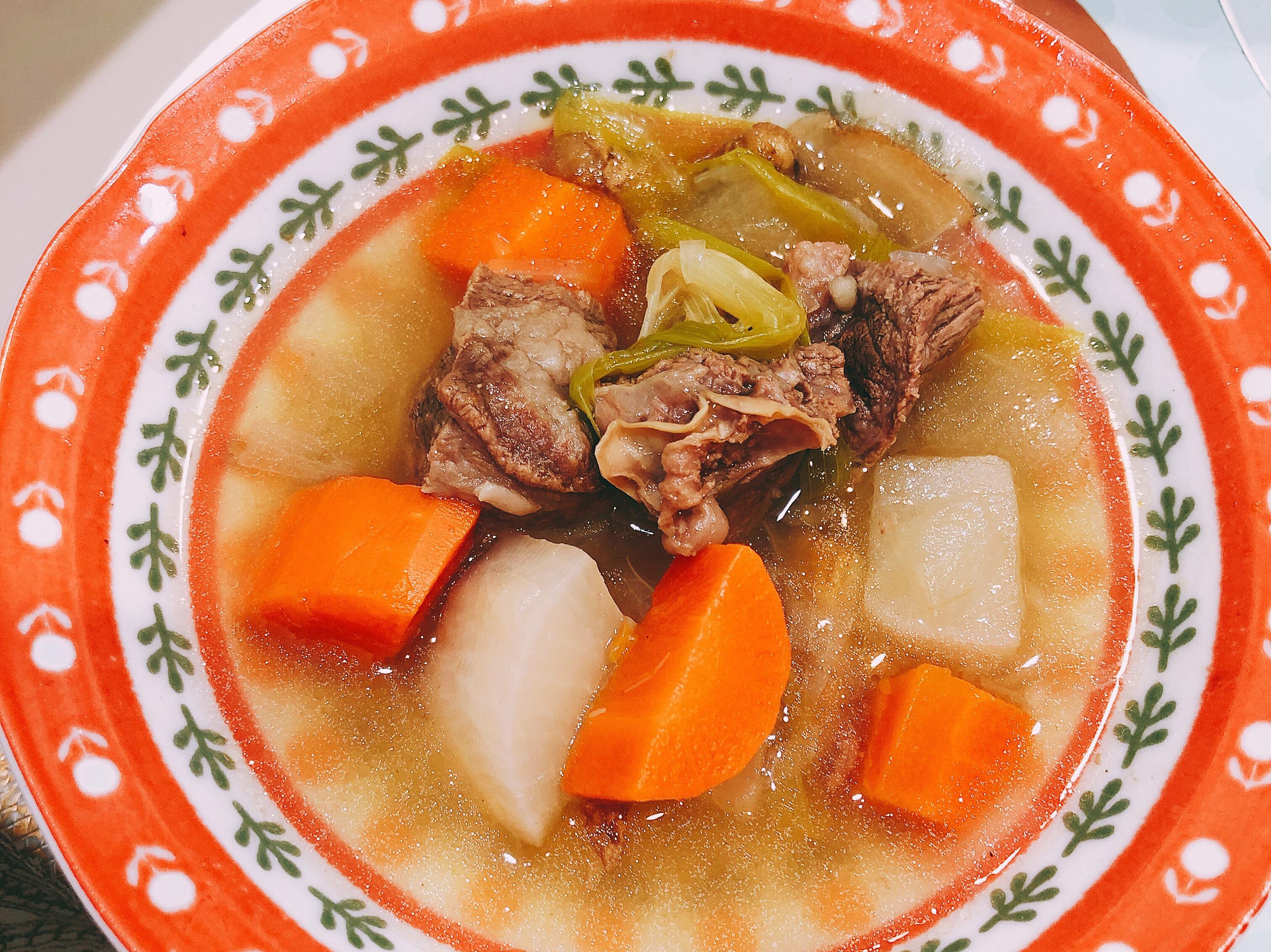 清燉牛肉湯 一鍋到底版