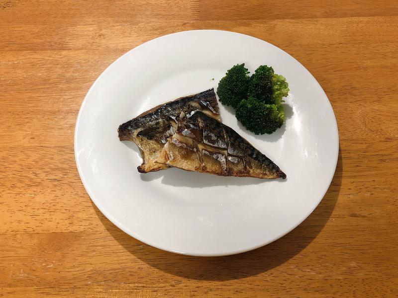 三步驟美味鹽烤鯖魚