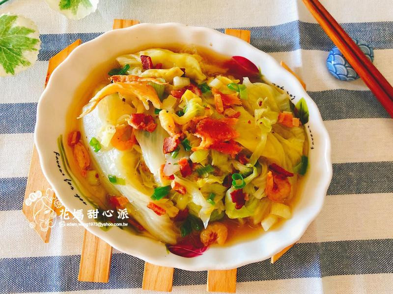 培根魯白菜(家常料理)