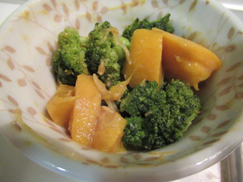 日式芥末拌綠花椰菜芒果