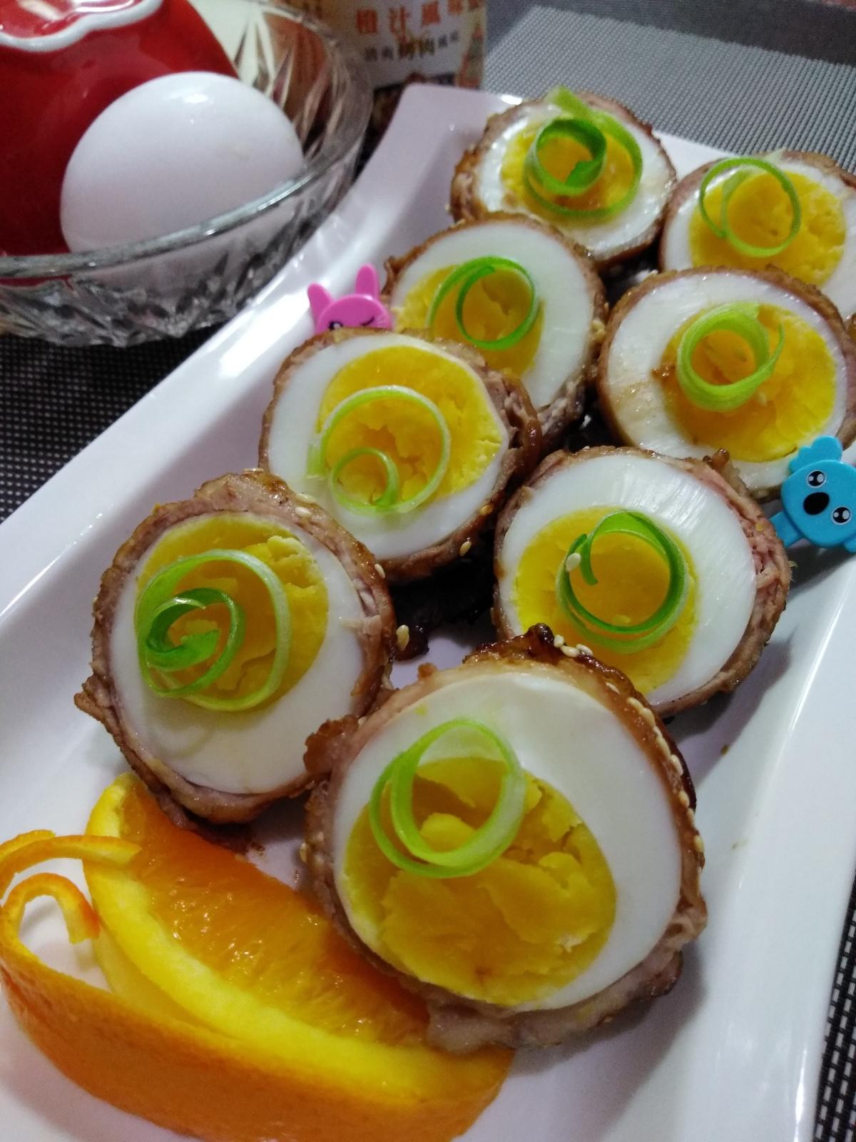橙汁肉包蛋