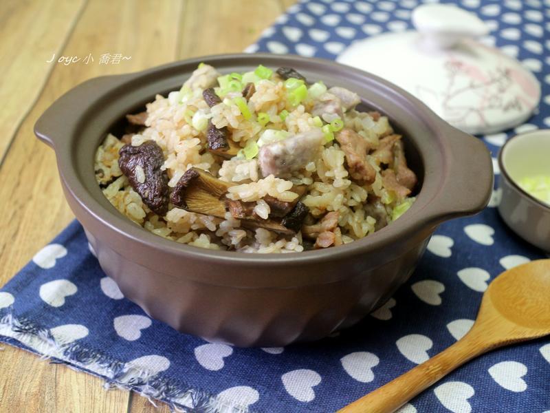 芋頭香菇炊飯(電子鍋)