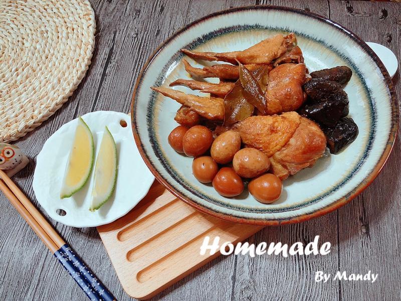 滷香菇雞腿🍗【鑄鐵鍋】