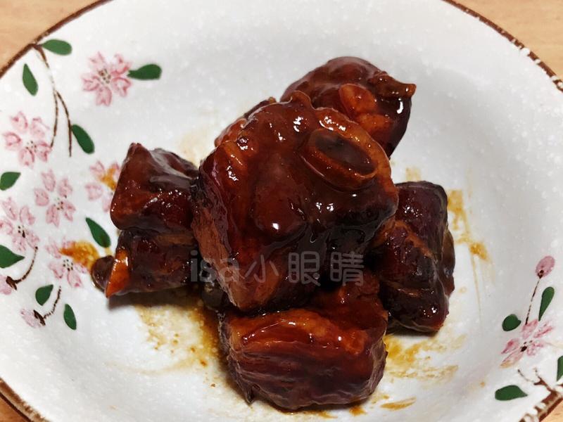 蜜汁排骨(李錦記醬包)