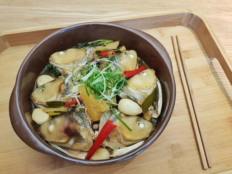 古早味鳳梨豆醬滷虱目魚頭