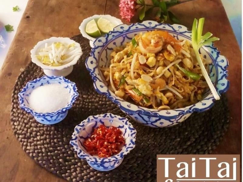 泰式炒粿條和台式炒粿條出自同源
