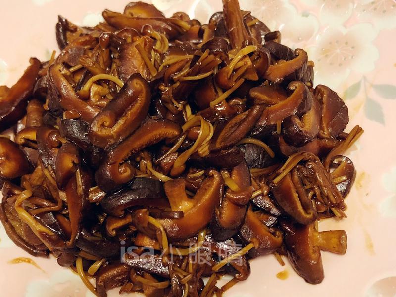 紅燒鮮菇(李錦記醬包)