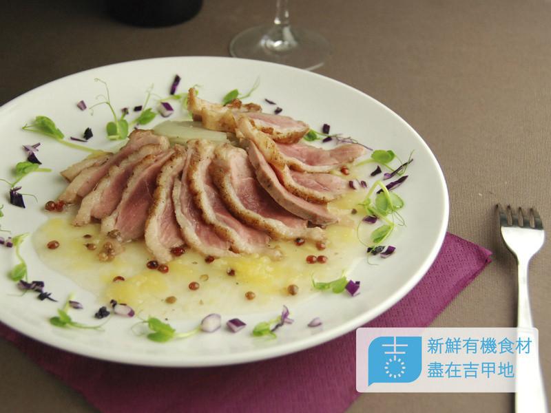 【吉刻美食】香煎花椒鴨胸佐鳳梨醬汁