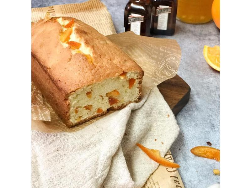 糖漬香橙磅蛋糕
