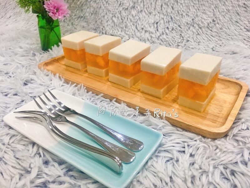 芒果椰奶果凍