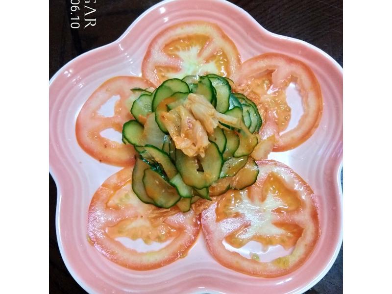 韓式泡菜蕃茄小黃瓜