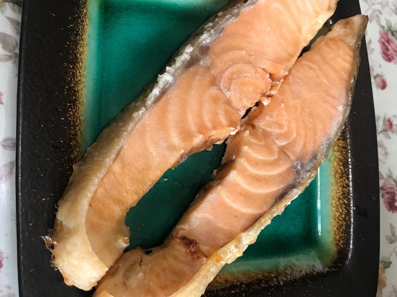 ♡海鹽烤鮭魚♡