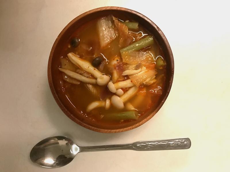 湯料理|韓式豬肉泡菜湯(低醣/清冰箱)