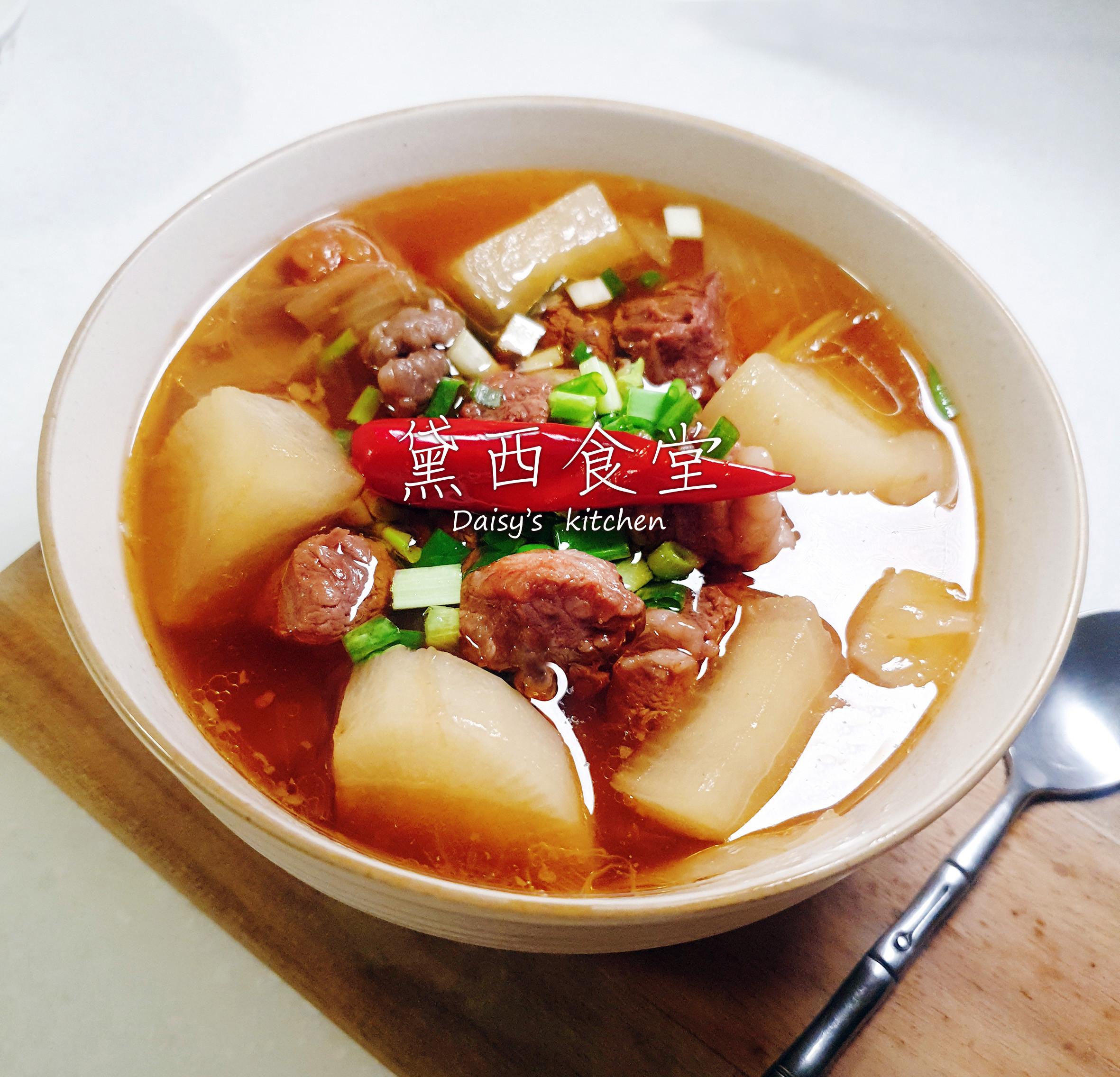 健康好味~🍅番茄牛肉湯~