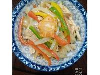 涼拌韓式泡菜彩椒雞絲