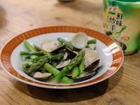 蘆筍炒蛤蜊