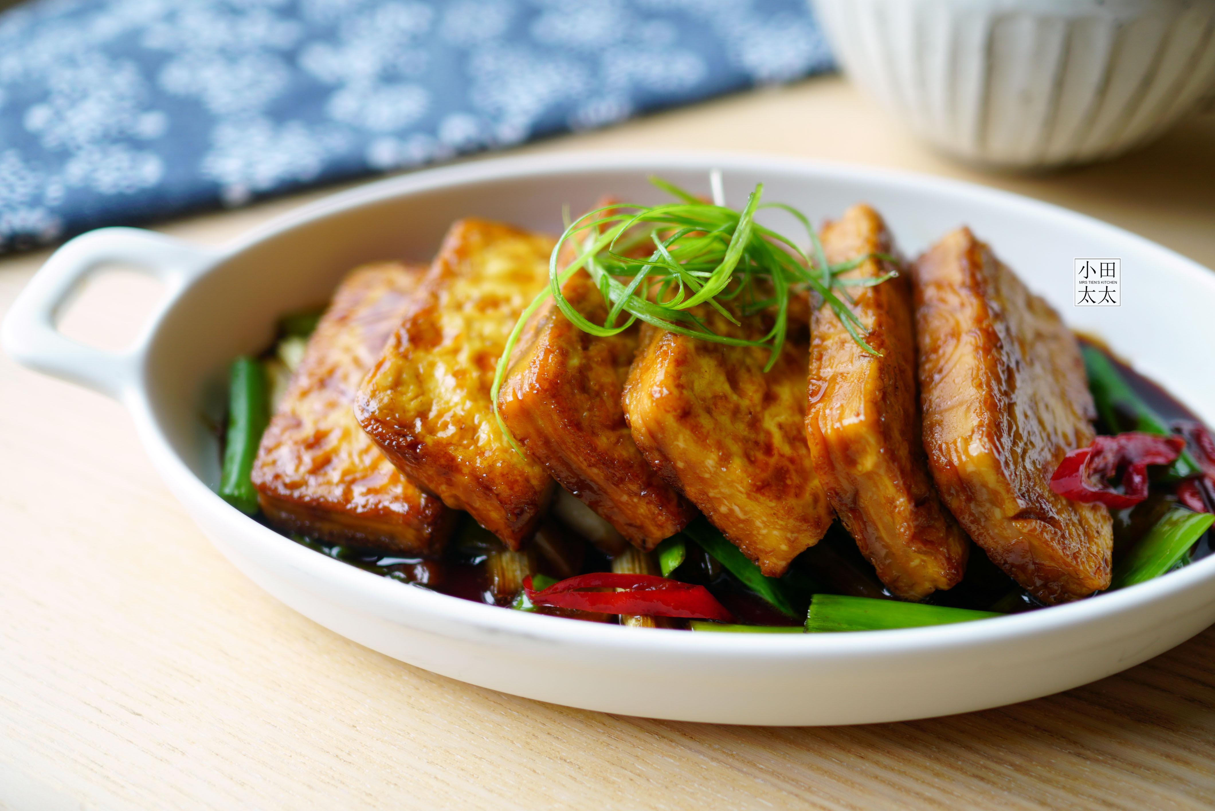 無敵下飯家常菜~蔥燒豆腐!(影片食譜)