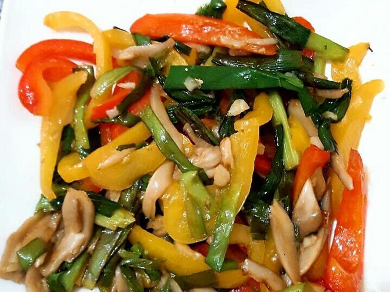 酸辣什錦蔬菜