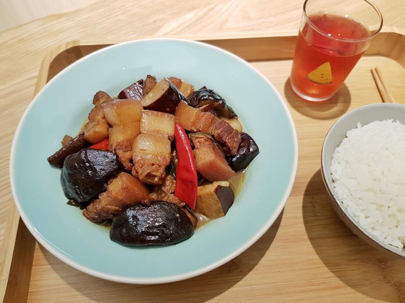 香菇豆干紅燒肉